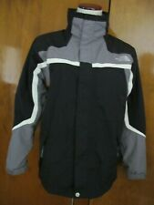 The North Face black boys XL zip out fleece jacket can be worn 2 different ways