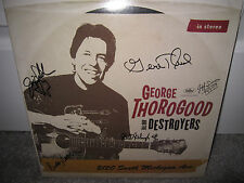 GEORGE THOROGOOD SIGNED 2120 SOUTH MICHIGAN AVE ALBUM AUTOGRAPH DESTROYERS CD