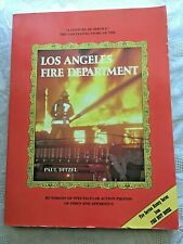 Vtg 1986 Los Angeles Fire Department Service History PB Hundreds of Photos