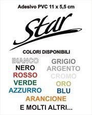 Adesivo Targhetta LML STAR STELLA PVC adesivi sticker scudo cofano VESPA SCOOTER