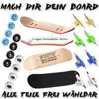 CLASSIC Fingerboard SET SOUTHBOARDS® Handmade Wood Fingerskateboard ECHT Holz