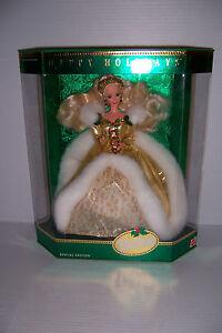 1994 Happy Holidays Barbie doll Special Edition Mattel 12155 NRFB!