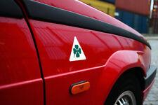 Alfa Romeo Quadrifoglio stickers / badges / decals (x2)