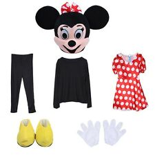 Friend of Minnie Mouse, she is Miss red Mousey Mascot Costume Adult size