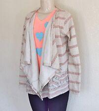 Billabong Girls Loosen Up Cardigan Sweater – Natural sz M