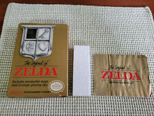 The Legend of Zelda - Nintendo NES - Authentic - Box and Manual Only - Oval Seal