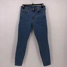 Gap 1969 jeans high waisted skinny leg stretch size 26 short