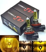 Rally H11 100W 3000K Yellow Two Bulbs Head Light Low Beam Off Road Halogen Lamp