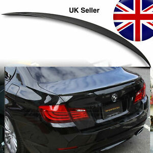 BMW PAINTED 668 Jet Black 5 SERIES F10 ABS 10-17 REAR BOOT LIP SPOILER M5 STYLE