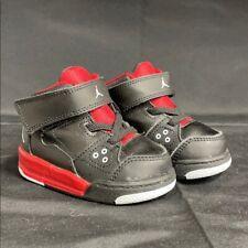 Baby Black & Red Retro Jordan's Size 4c