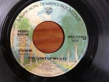 "DEBBY BOONE 45 RPM ""You Light Up My Life"" & ""Hasta Manana"" VG condition"