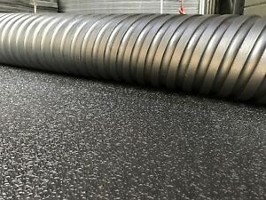 Rubber Floor Gym mats, Commercial Flooring 12mm(6x4) Foot Amoeba Top Design