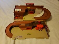 Hot Wheels Mattel Vintage 1979 CITY Sto & Go Playset Stow N Go Fold Out Portable