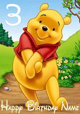 Winnie the Pooh Theme Greeting Card