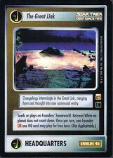 STAR TREK CCG REFLECTIONS SUPER RARE THE GREAT LINK