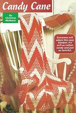 *Candy Cane Afghan crochet PATTERN INSTRUCTIONS