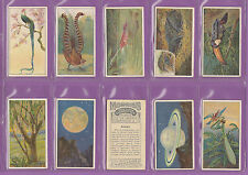 B. MORRIS & SONS LTD. - SCARCE SET OF 25 MARVELS OF THE UNIVERSE CARDS  -  1912