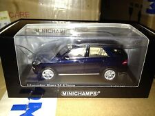 MINICHAMPS MERCEDES 2011 ML 550 BLUE 1:43 (NEW STOCK)