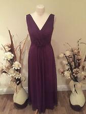 Symphony of VENUS taille 6 mauve robe de soirée