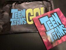 Teen Titans GO! Cartoon Press Kit w/ DVD - Cartoon Network - Batman DC Universe