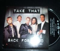 Take That (Robbie Williams) Back For Good Australian Card Sleeve CD Single