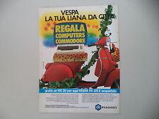 advertising Pubblicità 1984 VESPA PX 125 E