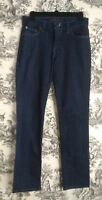 LEVIS Women's Mid Rise Skinny Stretch Denim Jeans Size 4M Dark Wash