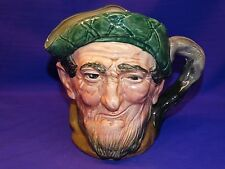 """ROYAL DOULTON LARGE """"AULD MAC"""" CHARACTER TOBY JUG PITCHER ENGLAND D5823"""