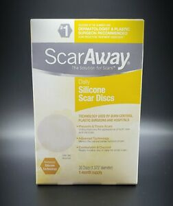 ScarAway Daily Silcone Scar Discs - 30 Discs Count