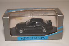F MINICHAMPS MERCEDES-BENZ 190 E 190E EVO 2 STREET BLUE BLACK MET. MINT BOXED