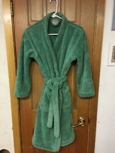 Melsimo Towel Selections Kids Belted Fleece Bathrobe Size XL (12) Used