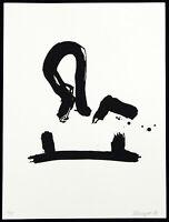 DDR-Kunst/Nachwendezeit. Informel, 1993. Gil SCHLESINGER (*1931 D), handsigniert