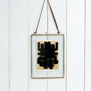 Hanging Brass Frame 15x20cm
