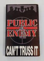 Public Enemy Cant Truss It Vintage Hip Hop Rap Cassette Single Almighty Raw Mix