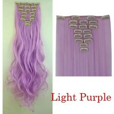 Extra Thick AS Remy Human Hair Extensions Double Weft 170G Clip In US TOP SALE