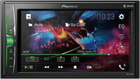 """Pioneer MVH-210EX Double 2-DIN 6.2"""" Touchscreen Car Stereo Multimedia Receiver"""