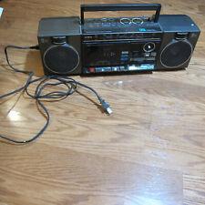 Vintage Aiwa Boombox Radio Tape Player Dsl Cs 250U Works Dynamic Super Loudness
