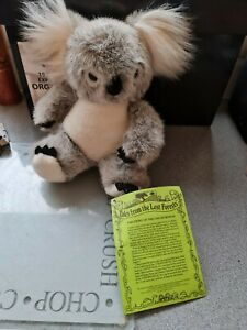 New With Tags Koala Bear Tales From The Lost Forest 9 Inches Tall