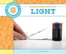 Science Experiments with Light (More Super Simple Science)-ExLibrary