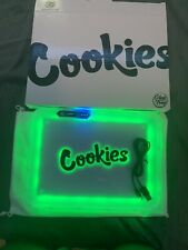 """Travel Rolling Tray """"Cookie X GlowTray!!"""", LED LIGHTUP RollingTray!!"""