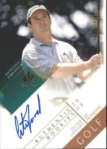 2003 SP Authentic Golf Card #115 Peter Lonard AU/1999 Rookie