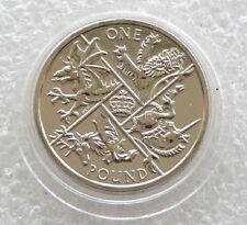 2016 Last Round Pound BU £1 One Pound Coin - Upside Down Edge Inscription