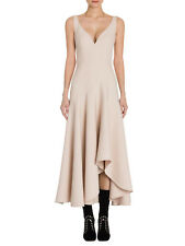 NWT Alexander McQueen Colorblock Drape Dress Cocktail Dress Sz 46 US 12 $2545