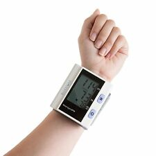 Bluestone Automatic Wrist Blood Pressure and Pulse Monitor with Memory in Case