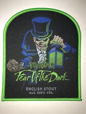 Iron Maiden Trooper Fear of the Dark patch green
