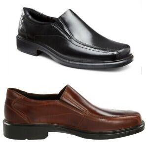 Ecco Helsinki Slip On Leather Comfort Men's Shoes - Choose Size & Color