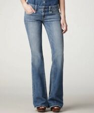 American Eagle Hipster Flare Jeans Medium Wash Size 2 Blue Casual Denim NWT