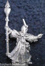 1995 Dark Elf Sorcerer Citadel Marauder Elven Army Drow Mage Warhammer Wizard GW