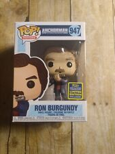 Ron Burgandy with Flaming Flute Funko Pop #957 SDCC 2020 Shared sticker