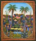 20x24 Haitian Haiti Art Painting By Henri Yves Meus